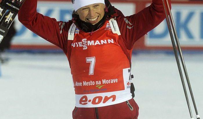 Krystyna Pałka - biathlon